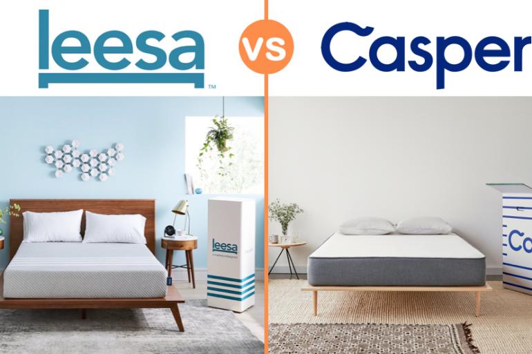leesa vs casper mattress review uk