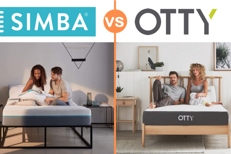 simba vs otty mattress review uk