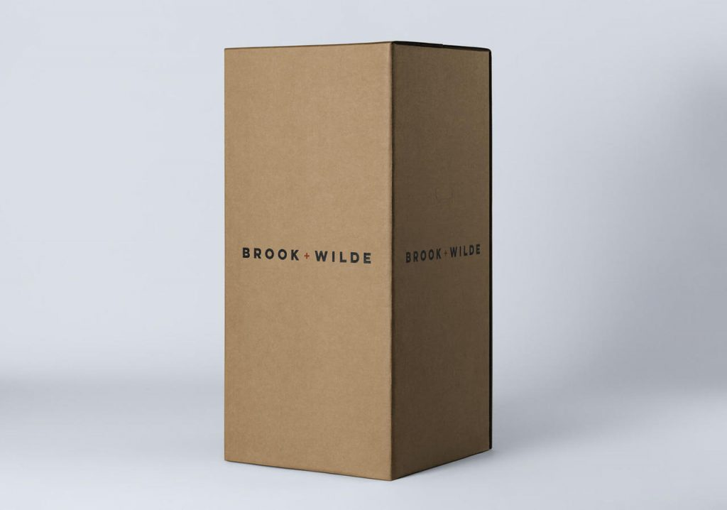brook and wilde mattress delivery and box