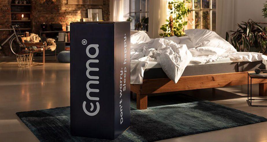 emma mattress box delivery