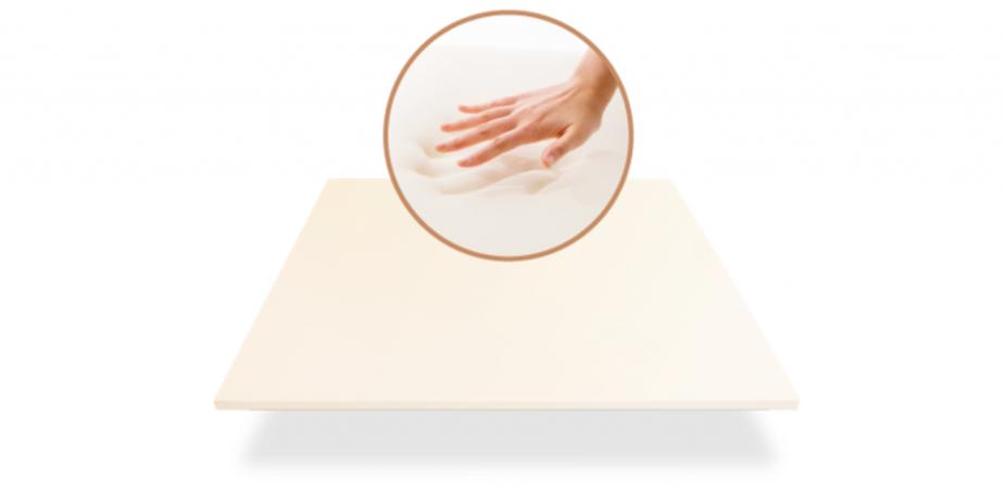 luxury memory foam layer