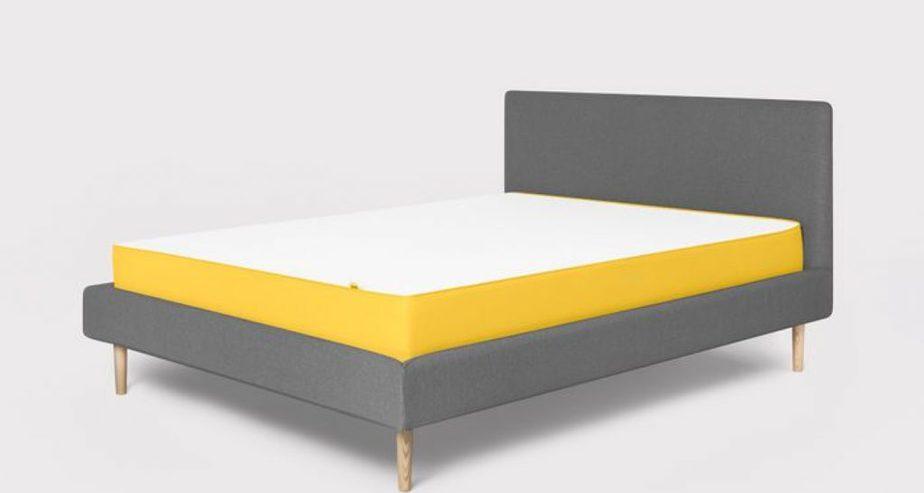 eve mattress yellow design
