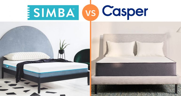 simba vs casper mattress comparison review