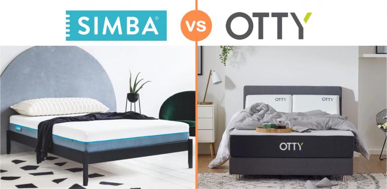 simba vs otty mattress review uk