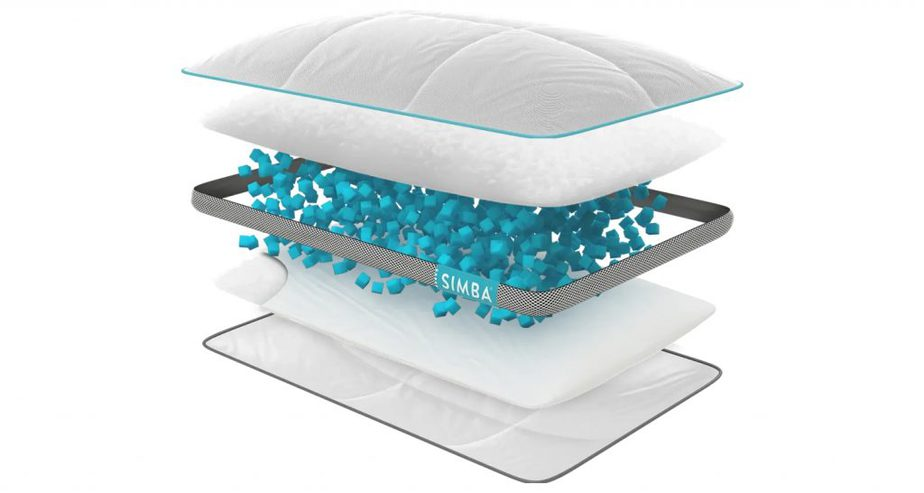 simba hybrid pillow layer review
