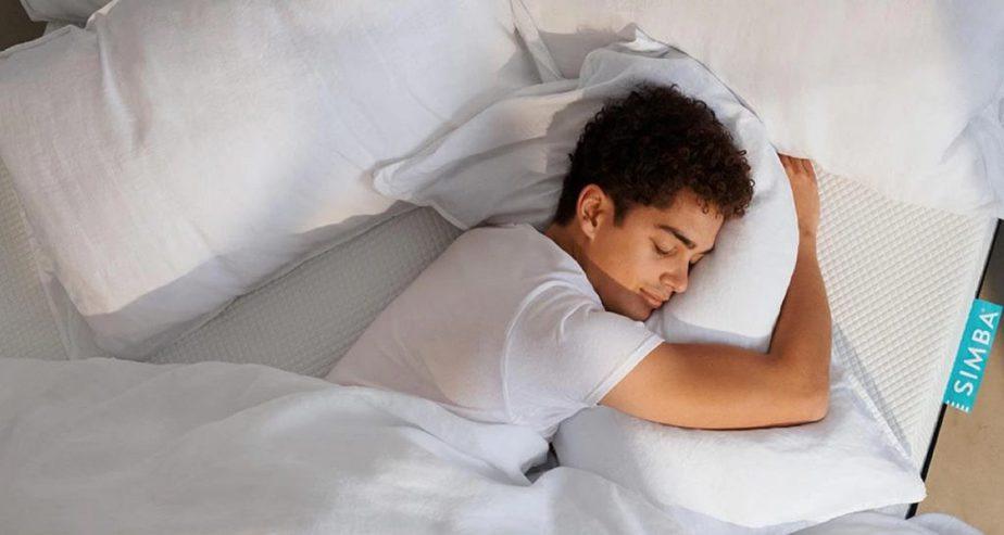 simba hybrid pillow support comfort