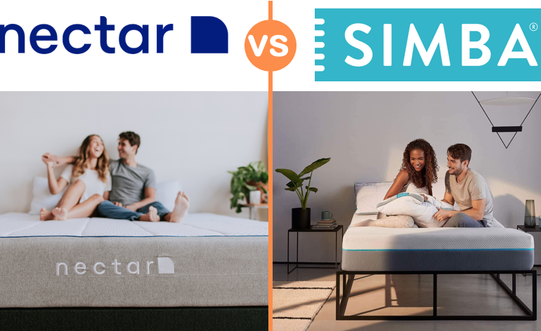 nectar vs simba mattress comparison review uk