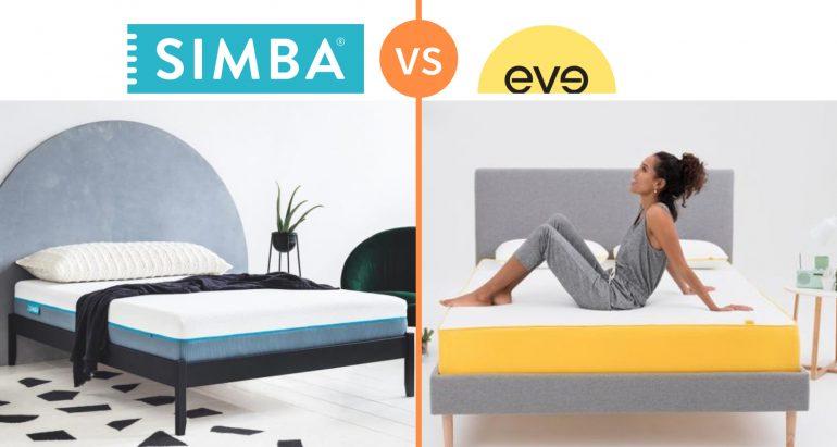 simba vs eve mattress comparison review