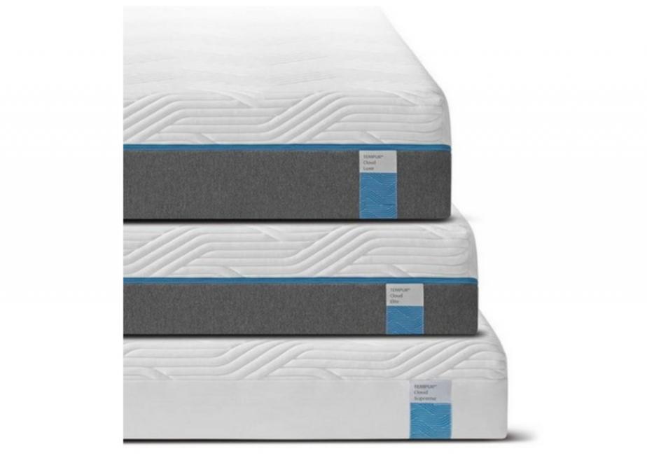tempur cloud mattress luxe, elite, supreme