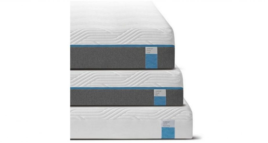 tempur cloud mattress luxe,elite, supreme uk