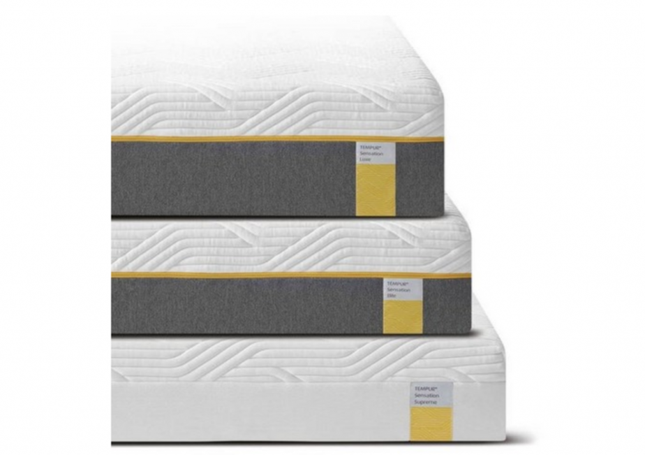 tempur sensation mattress luxe, elite, supreme