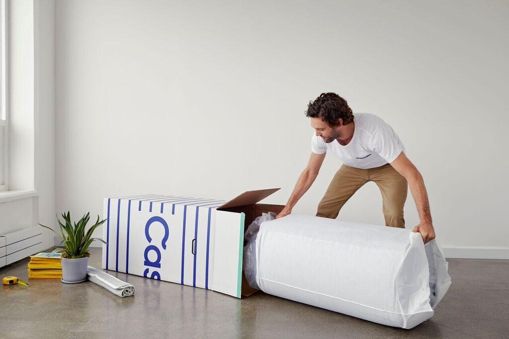 casper hybrid mattress unboxing review