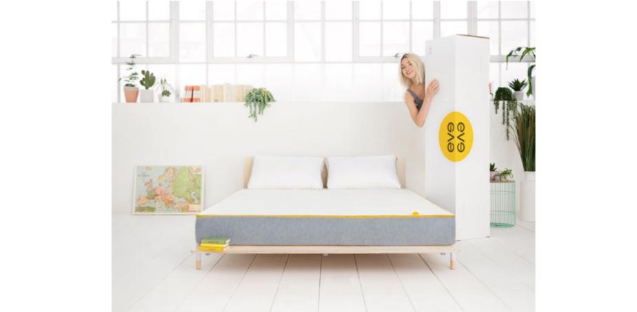 eve hybrid mattress box delivery