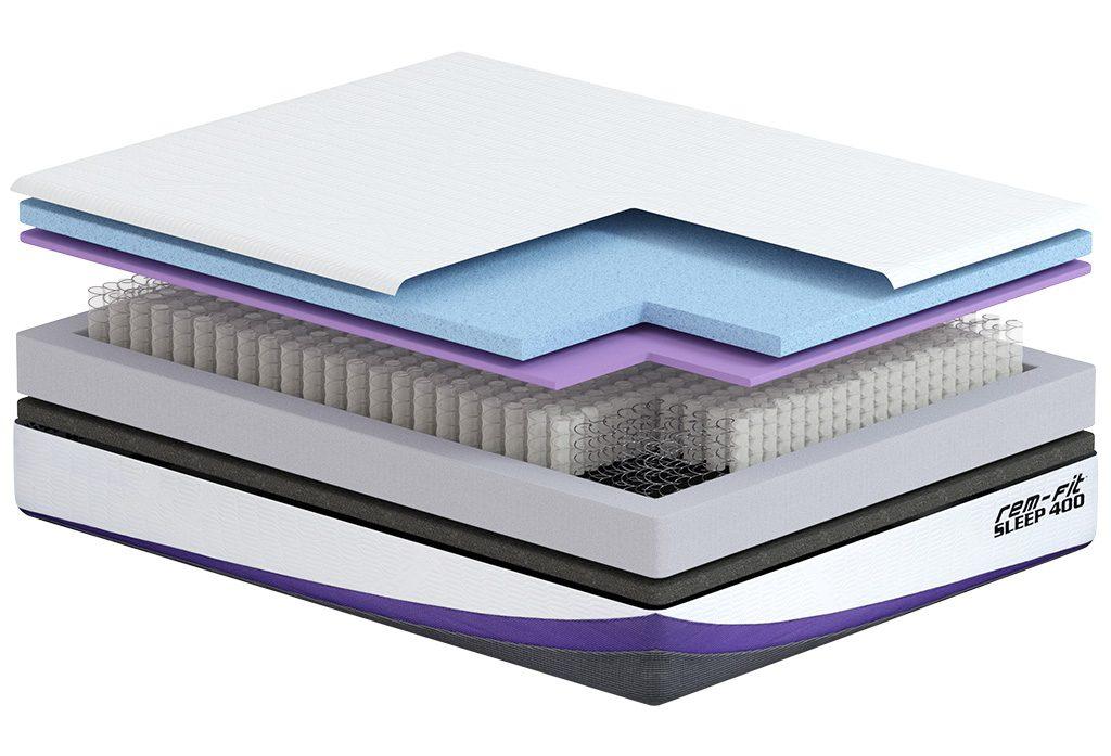 rem fit mattress layers