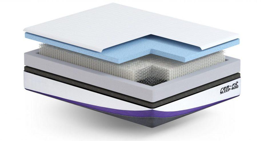 remfit 400 mattress layers review
