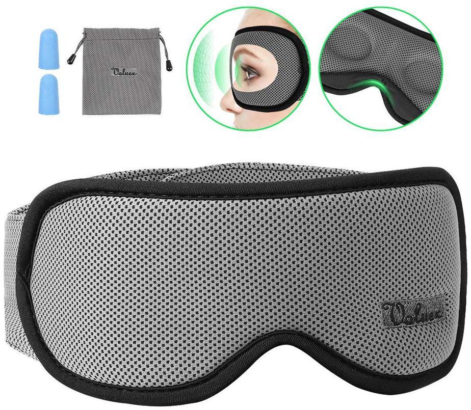 Voluex 3D contoured sleep eye mask