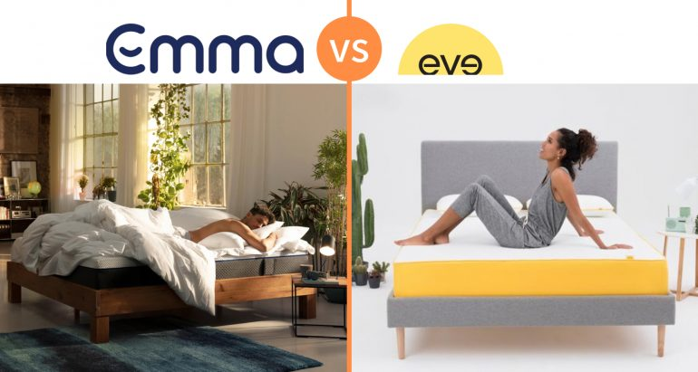 emma vs eve mattress review comparison