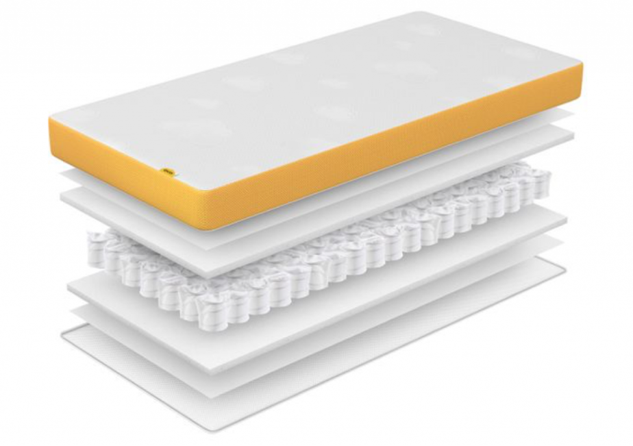 eve baby mattress construction layers