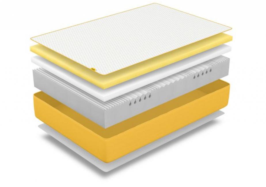 eve mattress layers construction
