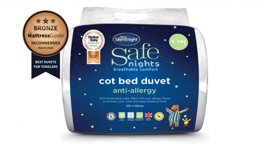 silentnight cot bed nursery toddler duvet