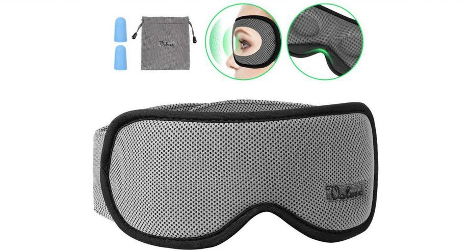 voluex contoured sleep eye mask