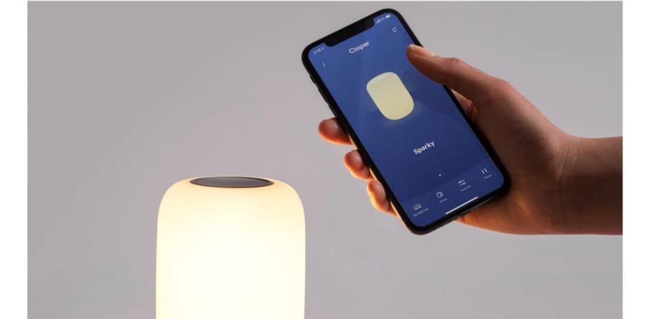 casper glow light app