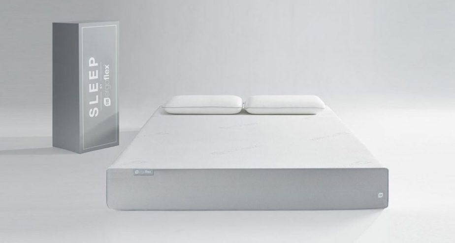 ergoflex mattress bad back pain uk