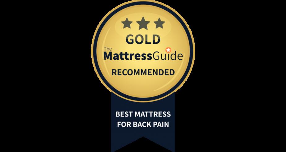 gold award mattress bad back