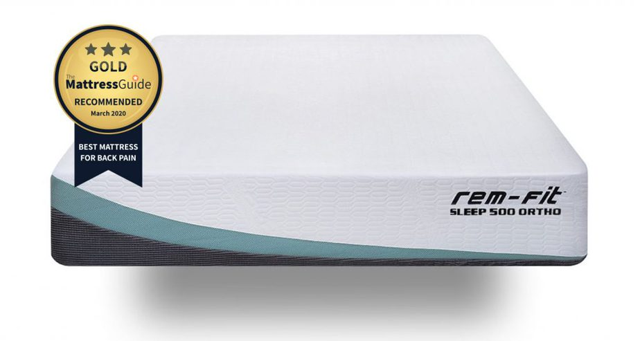 remfit 500 ortho best mattress for back pain