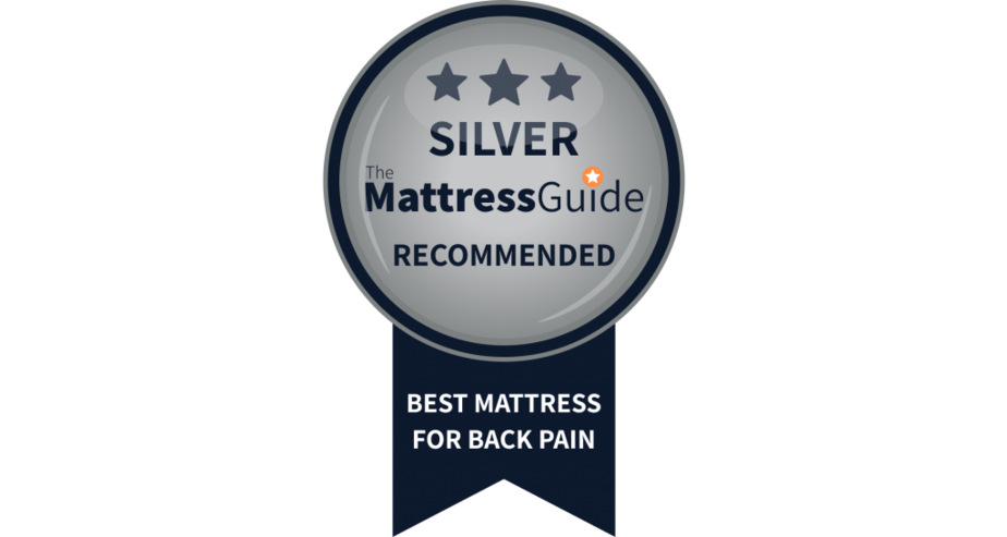 silver award bad back pain mattress