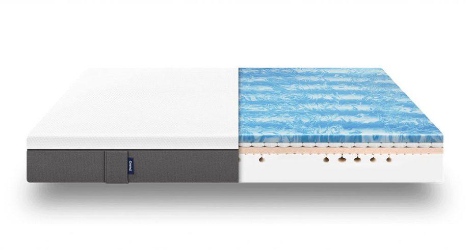 emma hybrid mattress layers