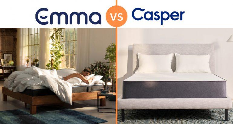 emma vs casper mattress review comparison uk