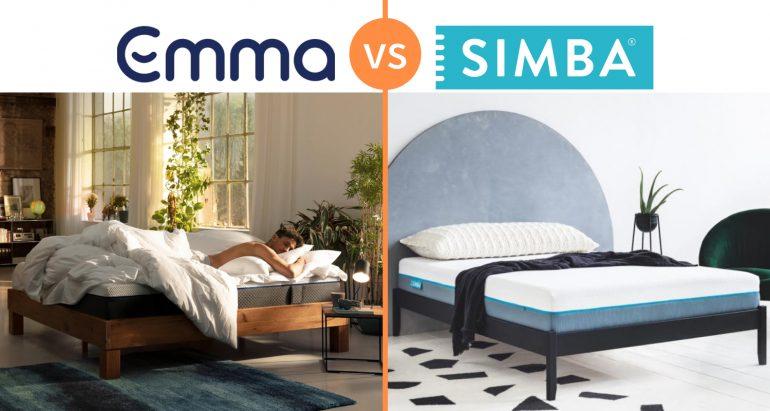 emma vs simba mattress comparison review