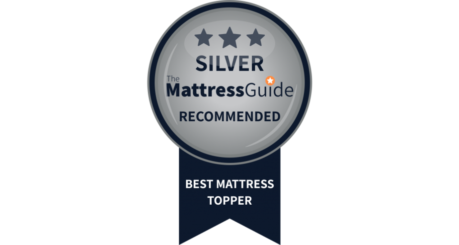 mattress topper silver award