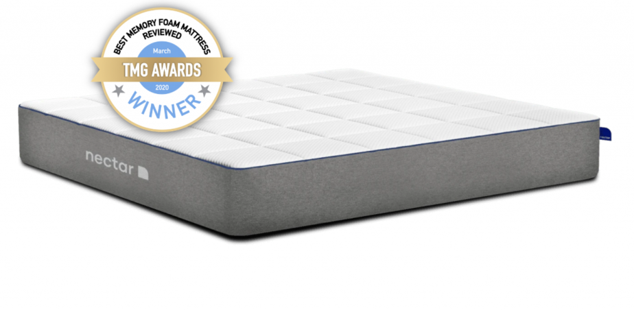 best memory foam mattress uk winner - nectar