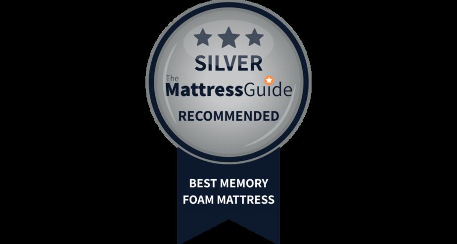 silver award memory foam