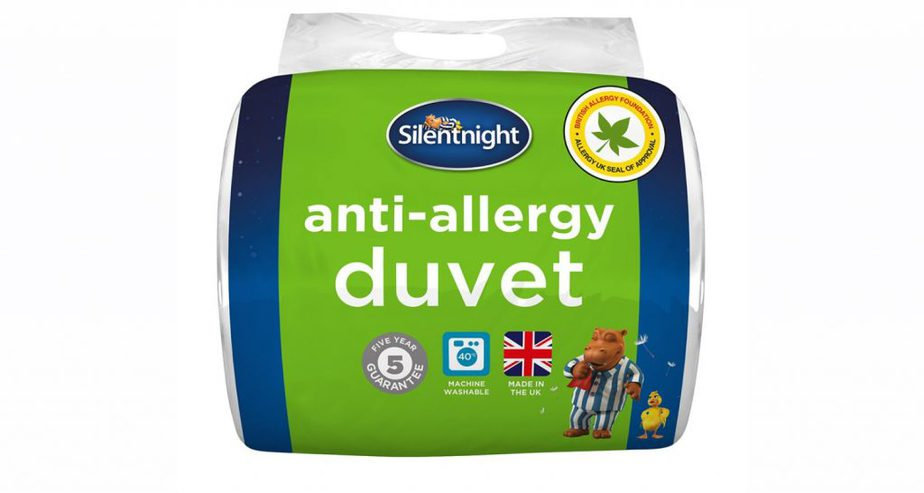silentnight anti allergy duvet