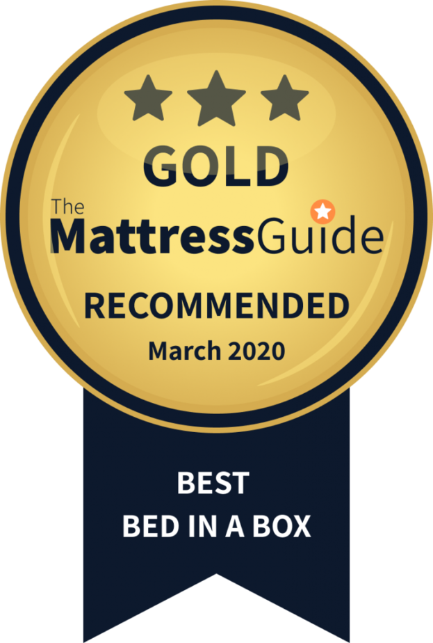best bed in a box gold