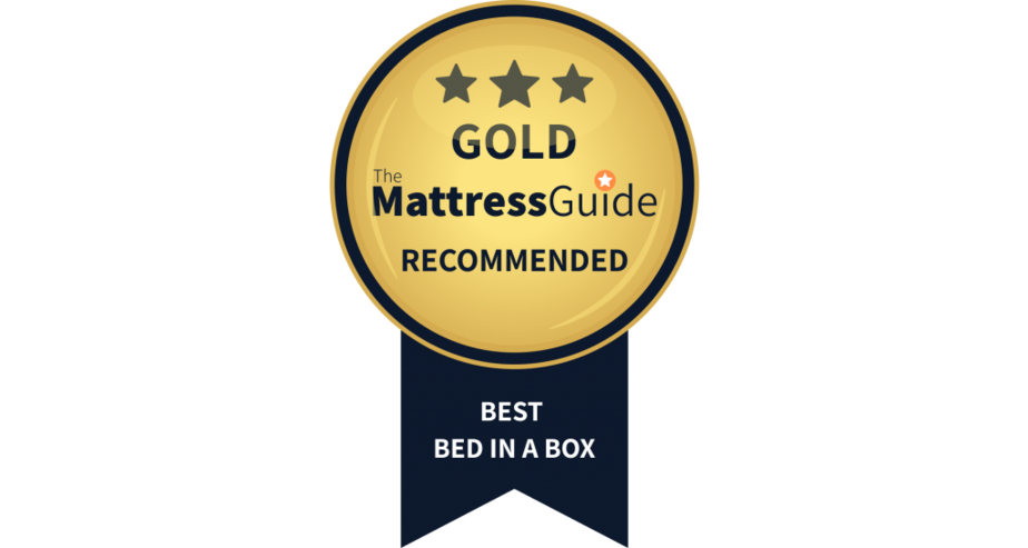 best bed in a box gold award