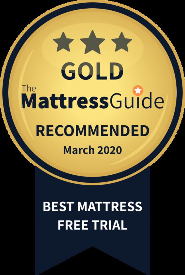 best mattress free trial gold