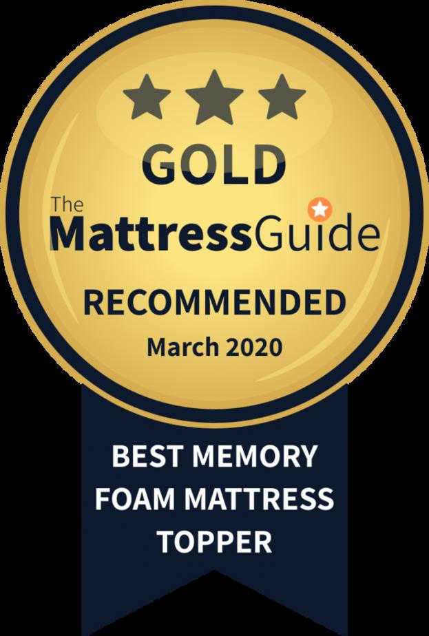 best memory foam mattress topper gold