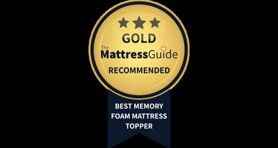 best memory foam mattress topper uk gold