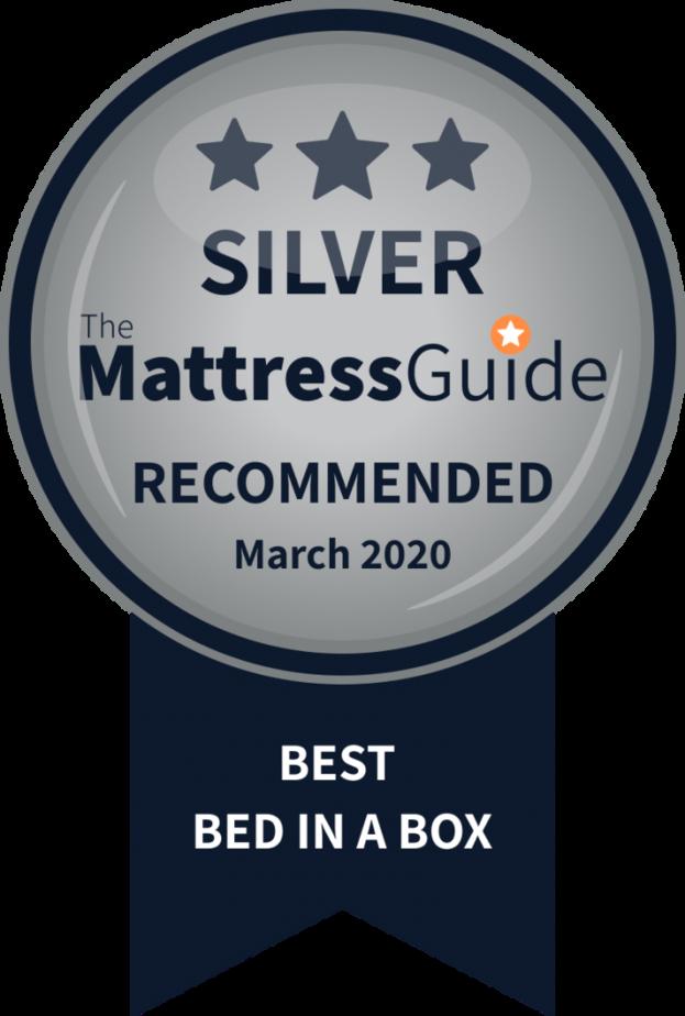 mattress in box silver