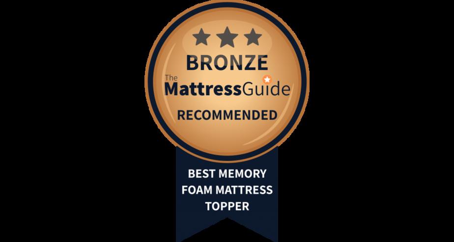 memory foam mattress topper uk bronze