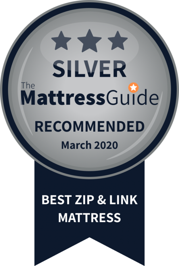 zip link mattress silver