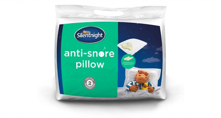 silentnight anti-snore pillow layers