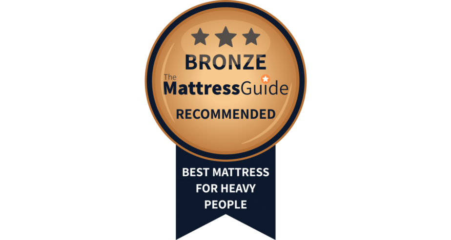mattress obese people bronze award