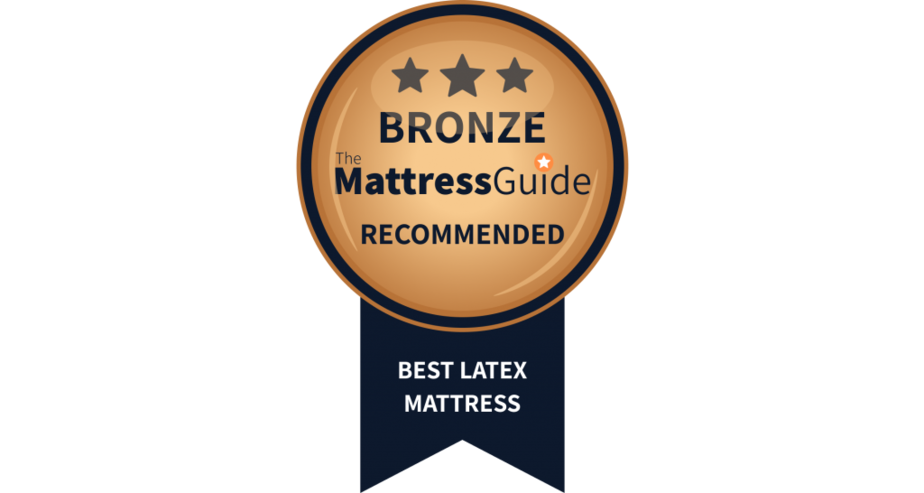 best latex mattress bronze award