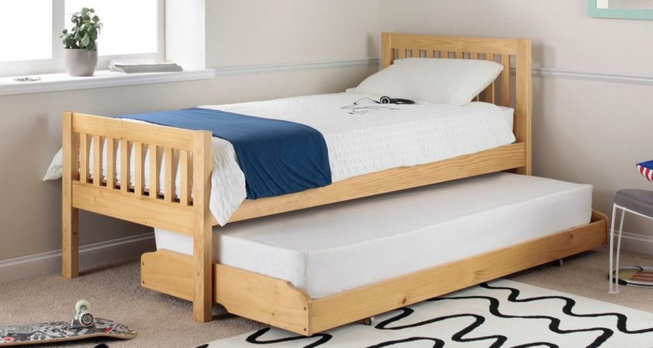 lena pine trundle bed