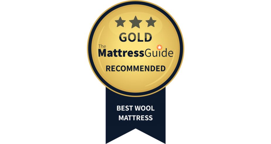wool mattress gold award